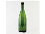 Champagne Bottle 750ml Green Flat