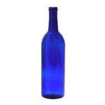Bottle Blue Bordeaux 750 ml  12/cs