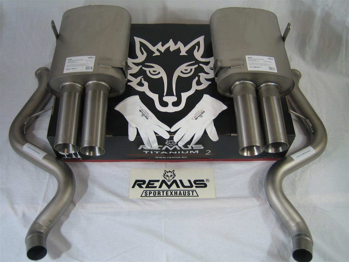 Bmw E90 E92 E93 M3 Remus Titanium Exhaust Performance