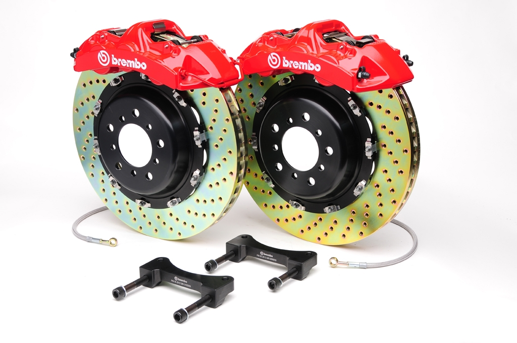 Brembo Brake Kit >> Big Brake Kit R32 Vw Gti Jetta Golf Evoms