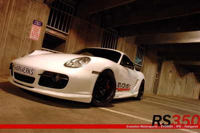 Porsche 987 Cayman RS350 Package EVOMS EVOMSit
