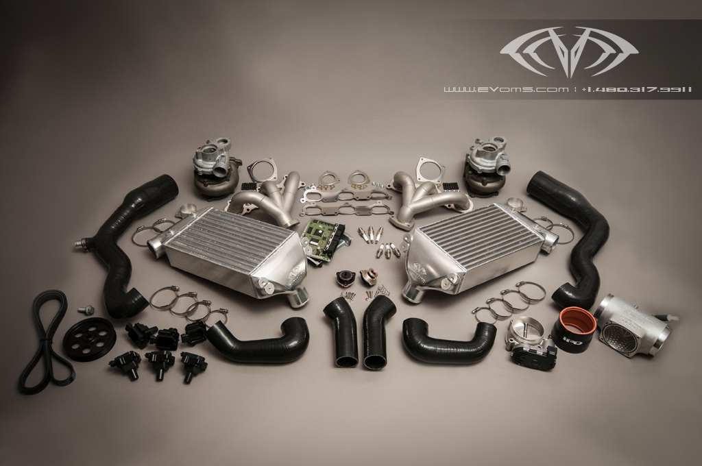 Porsche 997 Signature Turbo Evt775 Kit Evoms