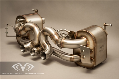 EVOMS Clubsport Exhaust with Bypass Valves