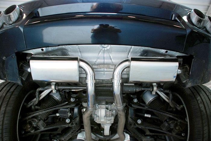 Cayenne S V8 Muffler Fabspeed EVOMS
