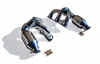 Porsche 987 Cayman/Boxster Fabspeed Race Headers EVOMS