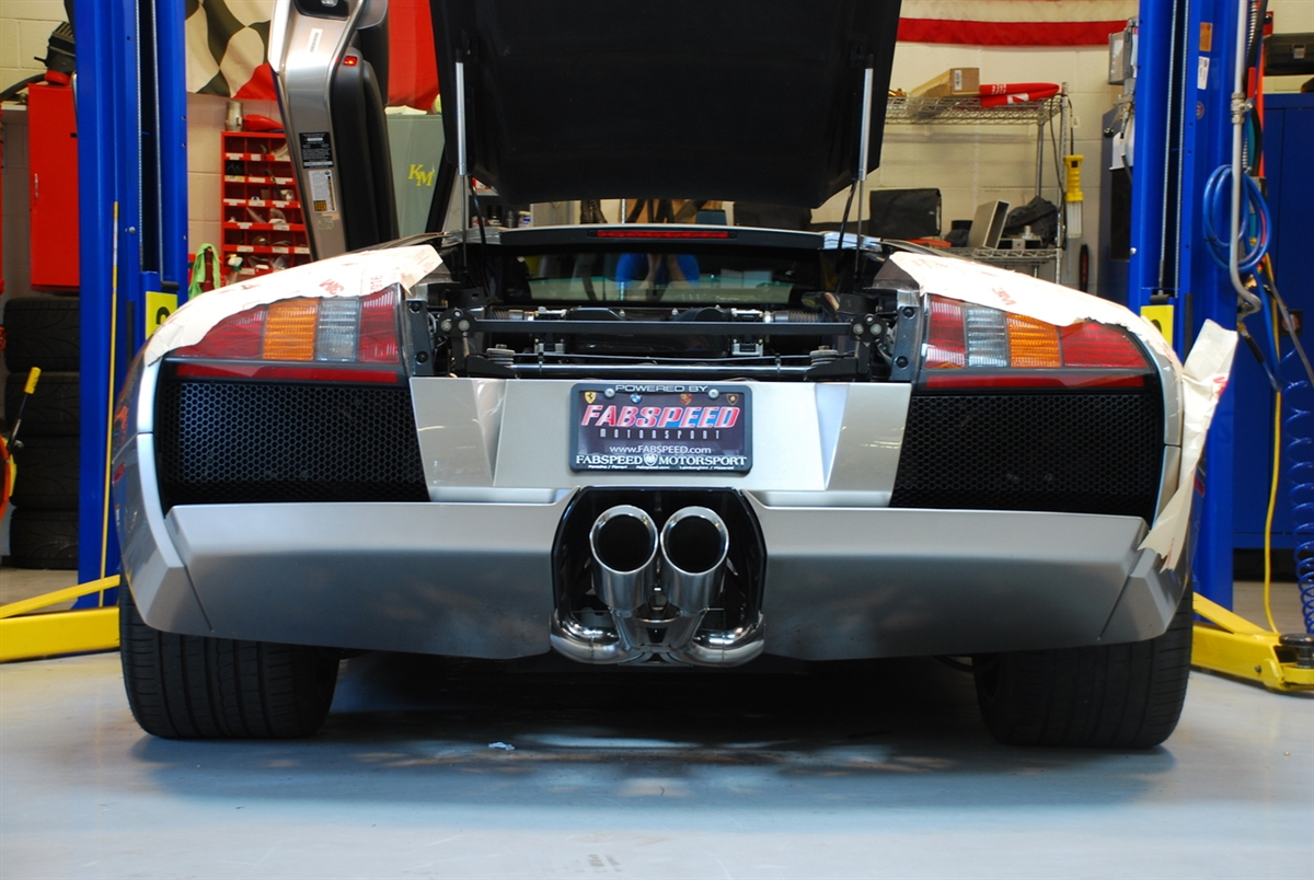 Fabspeed Murcielago Supersport X Pipe Exhaust System