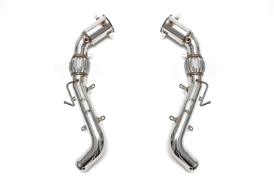 Fabspeed Sport Racing Catbypass Pipes Mclaren MP4-C12 EVOMS, Evolution Motorsports