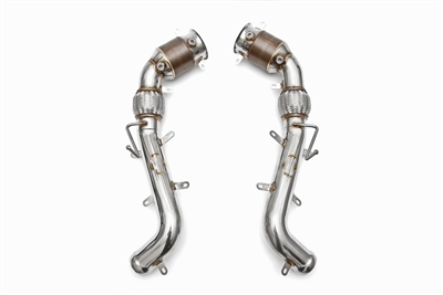 Fabspeed Sport Racing Catalytic Converters Mclaren MP4-C12 EVOMS, Evolution Motorsports