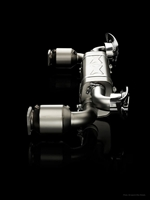 Akrapovic 99.2 Turbo/TurboS Slip on Titanium EVOMS