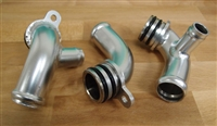 Porsche Turbo 997 Coolannt Replacement Pipes Shark Works EVOMS