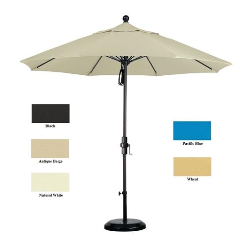 Patio Umbrella Alternative: Ultra Premium Sunbrella 9 Ft Patio Umbrella With Stand