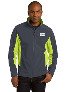 Core Colorblock Soft Shell Jacket