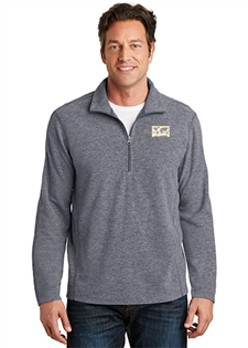 ATF Heather Microfleece 1/2-Zip Pullover