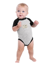 "Rabbit Skinsâ""¢ Infant Baseball Fine Jersey Bodysuit"