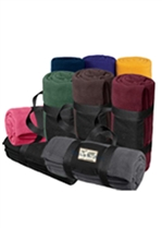 USMS Fleece Blanket with Carrying Strap