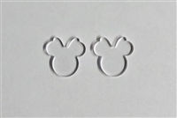 Mouse Head Female Earrings