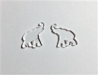 Elephant Post Earrings