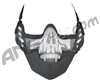 3G Strike Steel Airsoft Mask w/ Ear Protectors - Skull