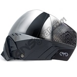 Angel Eyes Paintball Mask -Black w/ Mirror Lens