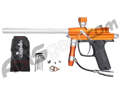 2011 Azodin Blitz Paintball Gun - Orange Silver