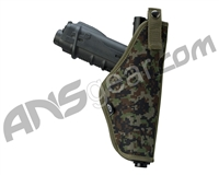 BT Tactical Paintball Gun Holster - Woodland Digi Camo