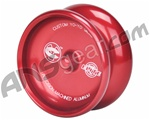 Custom Products AXL Elite Aluminum Yo-Yo - Red