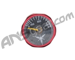 Dangerous Power 1200 PSI Gauge - Red