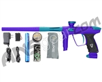 DLX Luxe 2.0 Paintball Gun - Dust Purple/Dust Teal