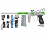 DLX Luxe 2.0 Paintball Gun - Dust White/Slime Green