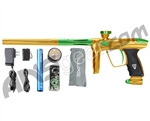 DLX Luxe 2.0 Paintball Gun - Gold/Slime Green