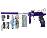 DLX Luxe 2.0 Paintball Gun - Purple/Dust White