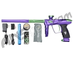 DLX Luxe 2.0 Paintball Gun - Purple/Slime Green