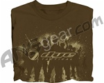2011 Dye Foot Soldier T-Shirt - Brown
