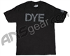 2011 Dye Typed T-Shirt - Black