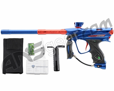 Dye DM13 Paintball Gun - Blue/Red
