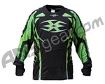 2011 Empire Contact ZE Paintball Jersey - Green