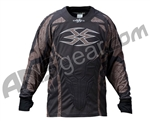 2011 Empire Contact ZE Paintball Jersey - Tan