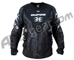 2011 Empire Contact LTD ZE Paintball Jersey - Black Tech
