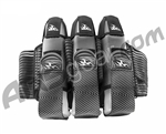 2012 Empire Liquid Breed Paintball Harness - 3+6 - Black & Grey ZZ