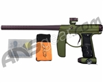 Empire Axe Paintball Gun - Dust Olive w/ Earth