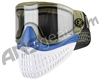 Empire E-Flex Paintball Mask - Olive/Blue/White