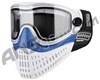 Empire E-Flex Paintball Mask - White/Blue/White