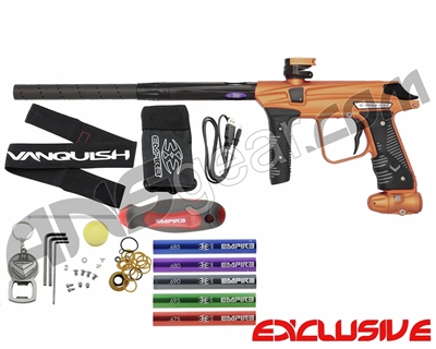 Empire Vanquish Paintball Gun - Sunburst Orange
