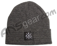 Exalt Crossroads Beanie - Dark Grey Stripes