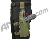 Full Clip Holster Thigh Rig - Left - Olive Drab