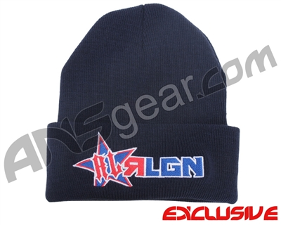 HK Army Russian Legion Beanie - Navy