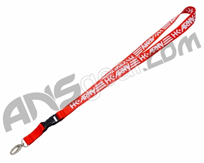 HK Army Lanyard - Red