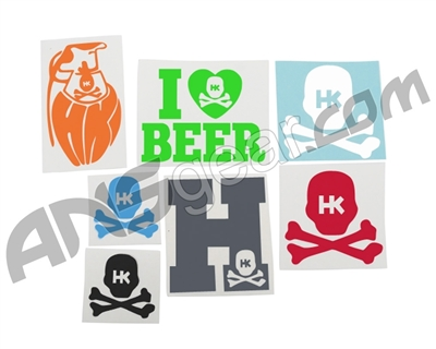 HK Army OG Sticker Pack - 7 Stickers