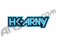 HK Army Typeface Sticker - Teal