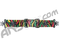 KM Paintball Grill Goggle Strap - Tiger Rasta
